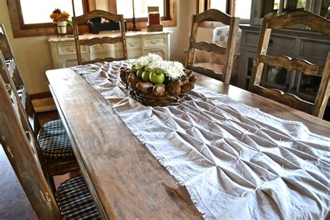 country style table runners smocked table runner country design style