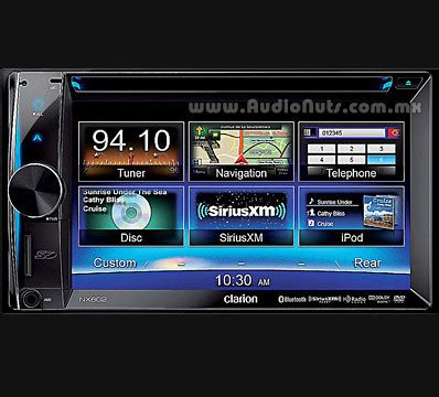 Clarion Auto Stereo by Clarion Nx602 Auto Stereo Dvd Gps Con Pantalla 6 2