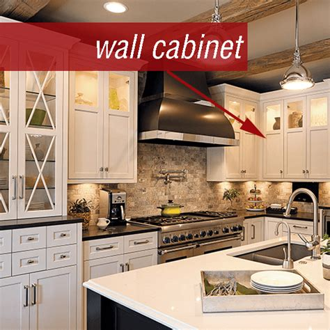 what is the area above kitchen cabinets called cabinetry 101 guide to cabinetry terms