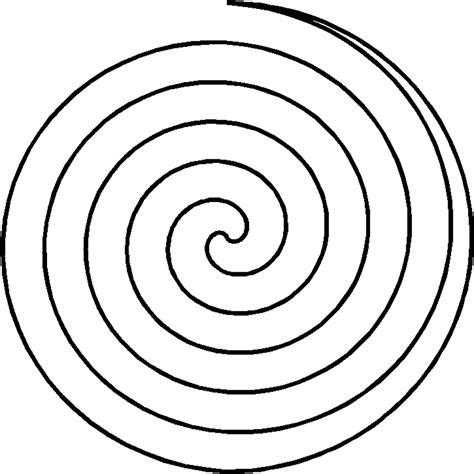 line pattern circle 30409 spiral circle full line stencil