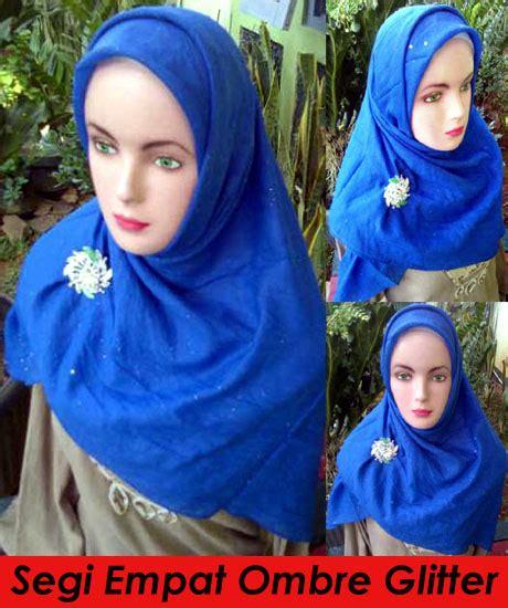 Jilbab Segi Empat Ombre Grosir Segi Empat Ombre Glitter Sentral Grosir Jilbab