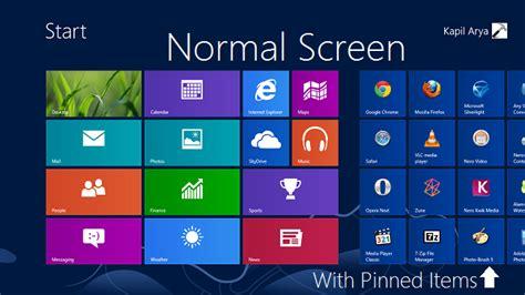restablecer pantalla inicio por defecto en windows 8