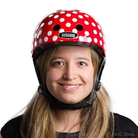 Apparel Nutcase Helmet Lxl Dot mini dots nutcase helmets