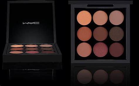Mac Palette Original paleta sombras mac eye shadow x9 burgundy times nine