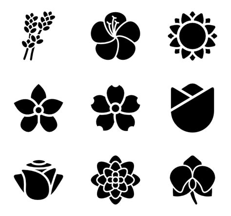 flower pattern vector png 10 flower petals icon packs vector icon packs svg psd