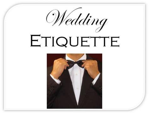 wedding planner wedding planner etiquette