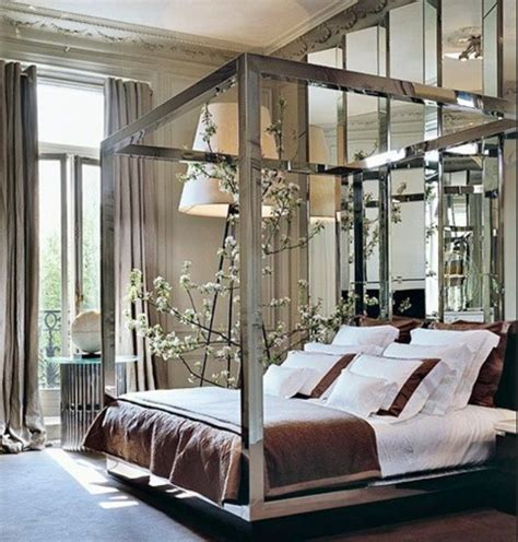 Mirrored Canopy Bed Mirror Canopy Bed Home Decor Pinterest
