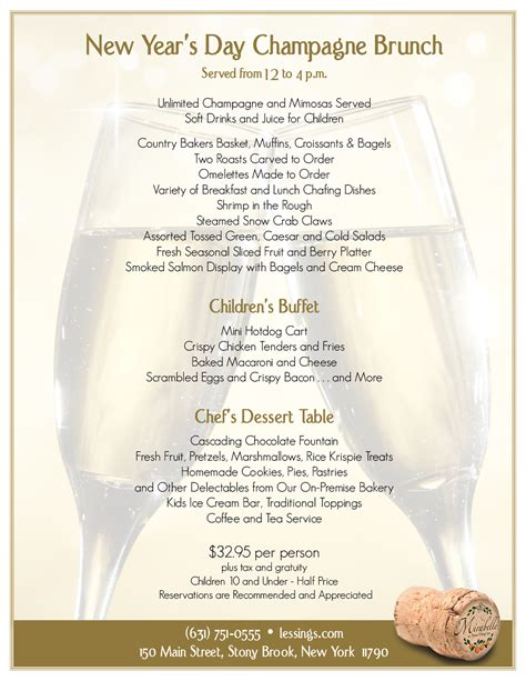 new year catering menu 2015 where to celebrate new year s three ny patch