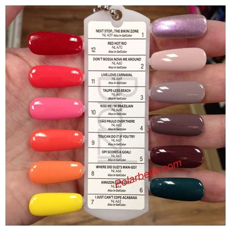 opi nail color names new opi brazil nail collection pics swatches with