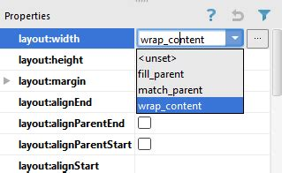 android layout drop down menu a guide to the android studio designer tool techotopia