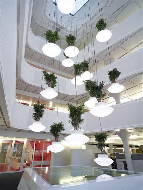 hotel light installation plant and light installation karmatrendz