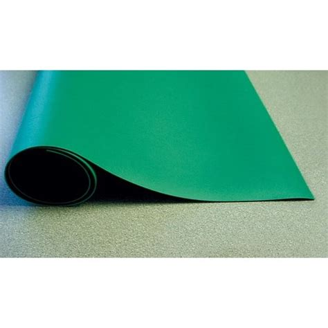 rubber bench mat botron b62250 two layer static dissipative rubber bench