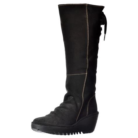 fly yust mid calf wide fitting winter boot