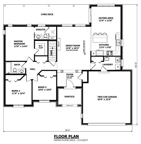 Canadian Home Designs Floor Plans Reddeerfloor 875 899 Canadian House Floor Plan Interesting