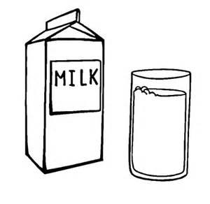 Disegno Di Latte E Bicchiere Da Colorare  Disegni sketch template