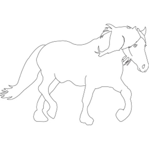 coloring pages of tennessee walking horses walking horse printable coloring page