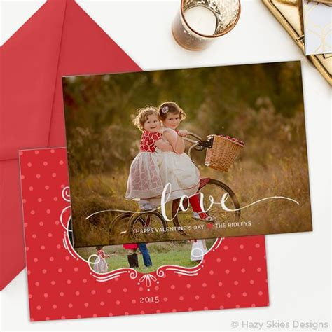 valentines day card template photoshop s day card template for photographers
