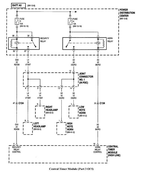 1998 dodge ram 1500 headlight wiring diagram wiring