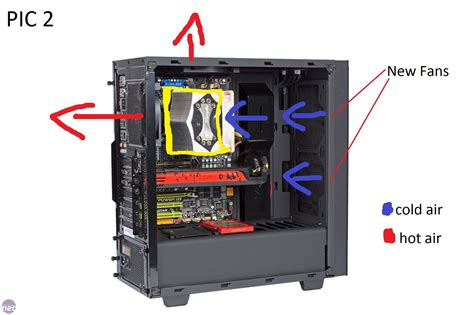 nzxt s340 fans fan setup in nzxt source s340 with big heat sink air