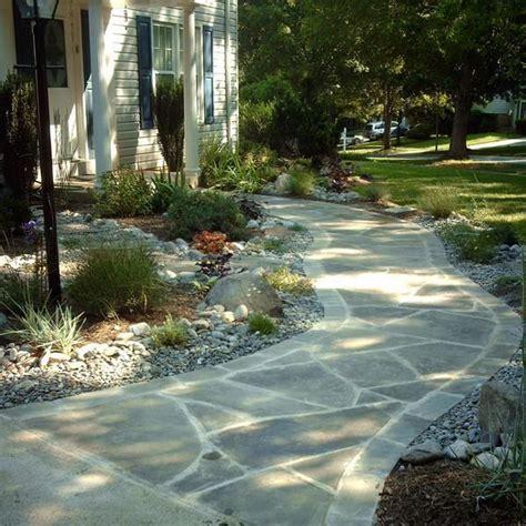 backyard sidewalk ideas front patio walkways ideas hardscape walkway flagstone
