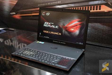 Laptop Asus Rog Malaysia asus high end god gaming laptop has landed in malaysia soyacincau