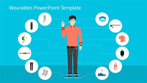 powerpoint template creator wearables shapes powerpoint templates slidemodel