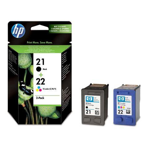 Tinta Printer Hp Type 21 Hp Sd367ae Pack N 186 21 22 Negro Color Cartucho