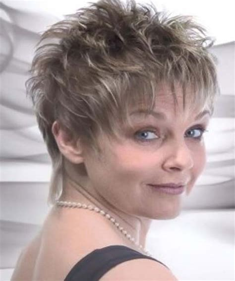 easy hairstyles no product short haircuts 2015 for women over 50