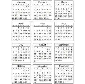 australian calendar template 2014 9 best images of 2014 mini calendar for crafting 2014