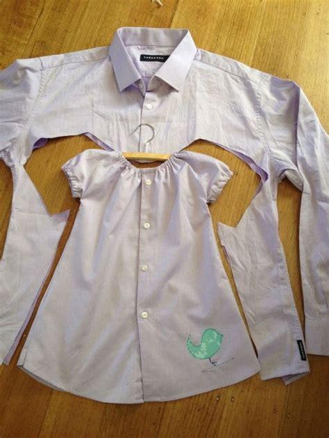 creative ways  repurpose mens shirt