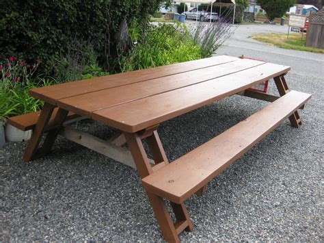 Large Picnic Table by Large Picnic Table Sooke