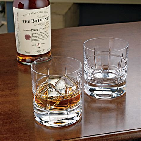 Bar Glasses Soho Bar Glasses Set Of 2 Wine Enthusiast