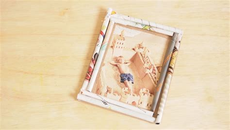how to frame a print 5 ways to make a photo frame wikihow
