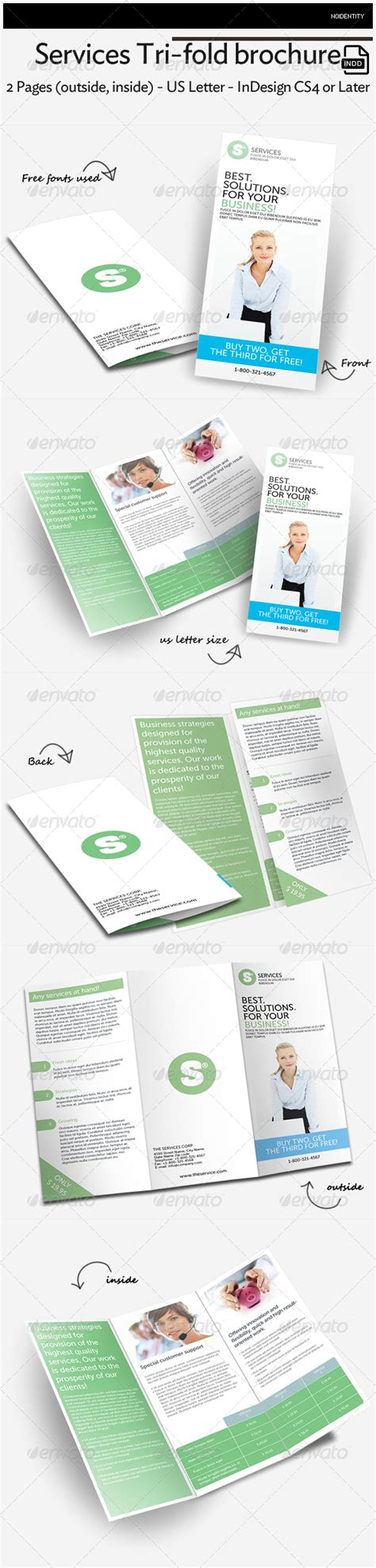 28 tri fold brochure template indesign cs6 96 best