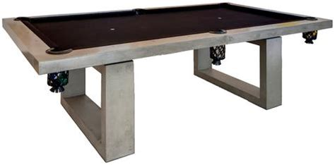 outdoor concrete pool table de wulf modern furniture tables