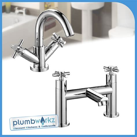 europa chrome bathroom taps basin mixer bath filler shower