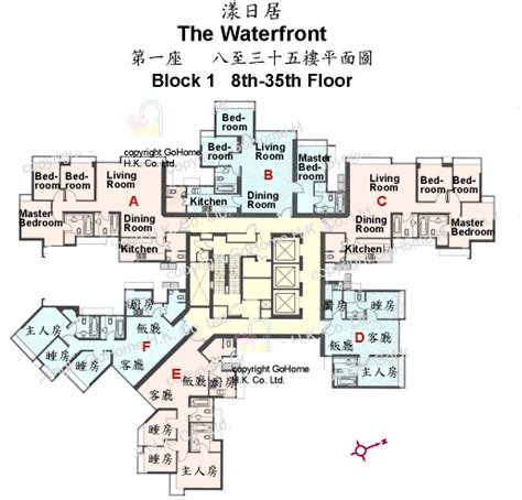 Waterfront Floor Plans by Floor Plan Of The Waterfront Gohome Com Hk