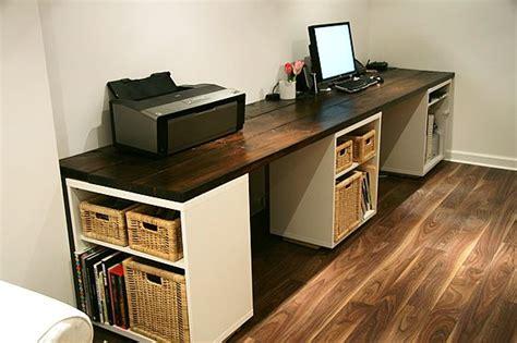 Diy Door Desk Two Station Door Desk Diy And Crafts Pinterest