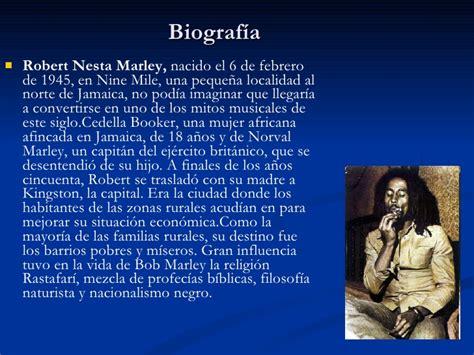 biography bob marley en ingles bob marley