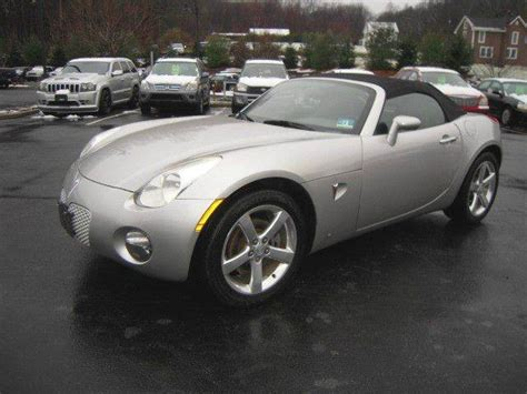 2006 Pontiac Solstice Convertible by 2006 Pontiac Solstice Base 2dr Convertible Ebay