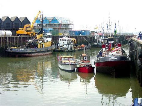 steam seafood boat quay p1 whitstable harbour day 2006