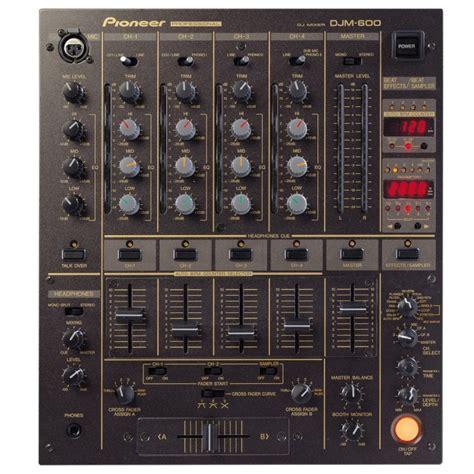 Katalog Mixer Audio dj mixer pioneer djm 600 dj equipment eventtechnik