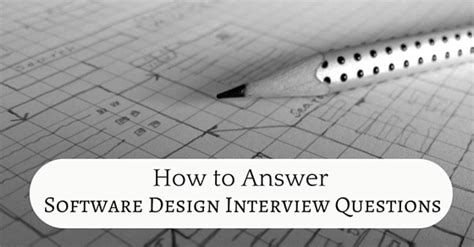 pattern programs for interview how to answer software design interview questions wisestep