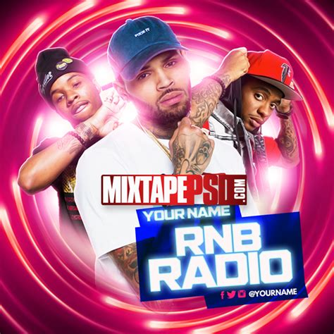 template rnb flyer mixtape template rnb radio 29 mixtapepsd com
