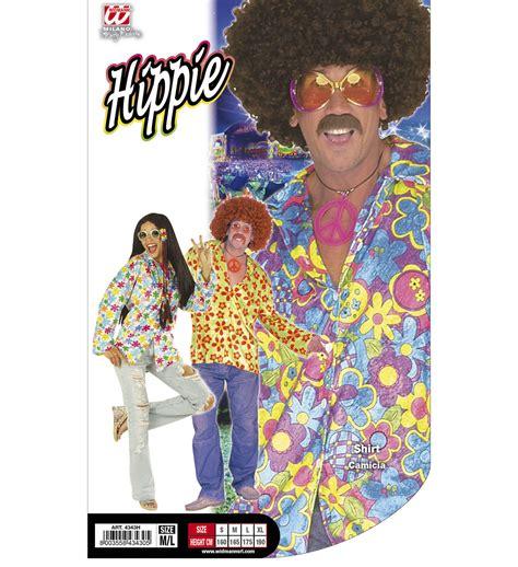 fiori hippy camicia fiori hippie in velluto m l abiti e maschere di