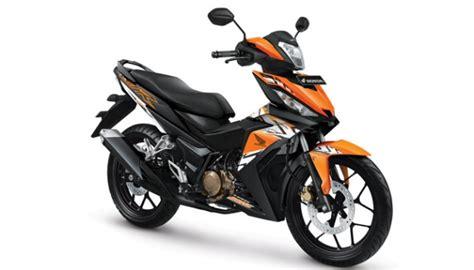 Motor Bebek Oranye menyimak keunggulan motor bebek terbaru honda motor