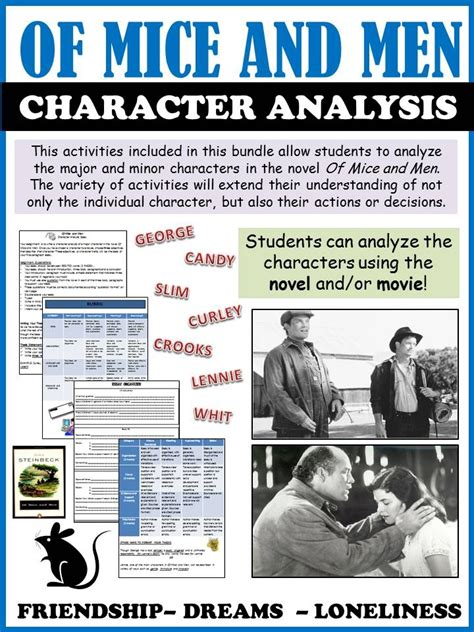 Of Mice And Analysis Essay by Of Mice And Character Analysis Essay Of Mice And Character Analysis Essay Wwwgxart Of