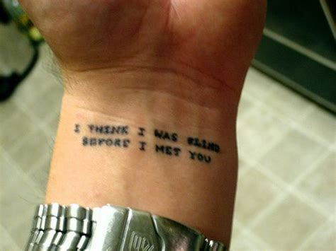 lyrics tattoo on my mind 60 beautiful lyric tattoos i love that most of these are
