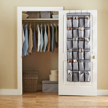 The Door 12 Pocket Organizer better homes and gardens 24 pocket the door organizer