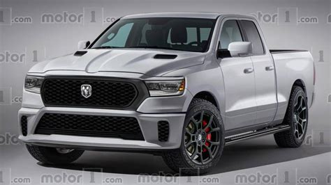 Ram Truck Hellcat by Ram 1500 Rendered As Truck With Hellcat V8 Power
